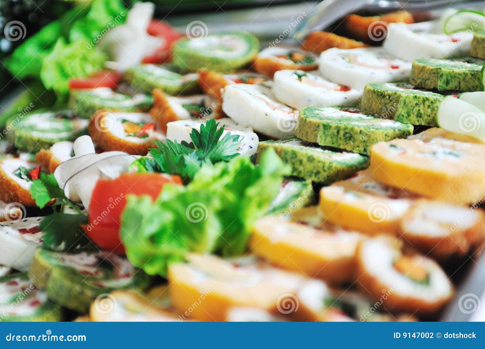 Alimento de la comida fría