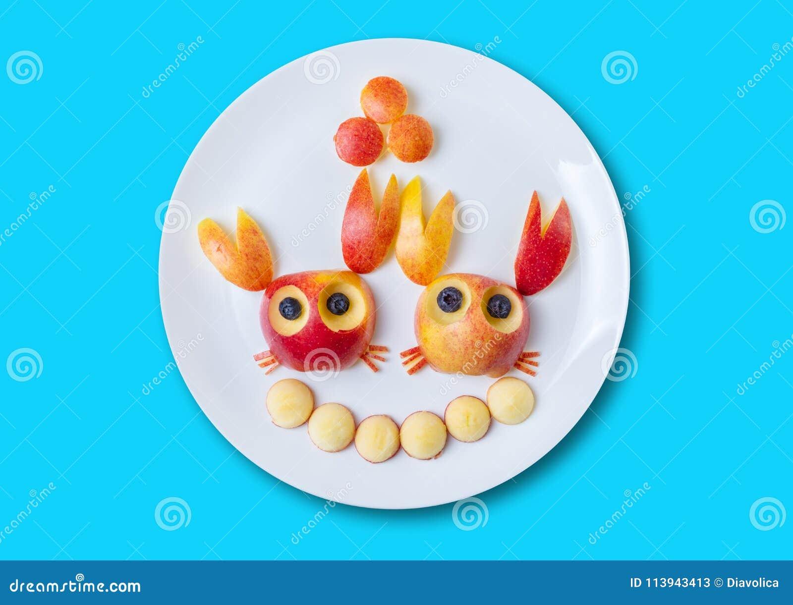 Alimento di arte per i bambini