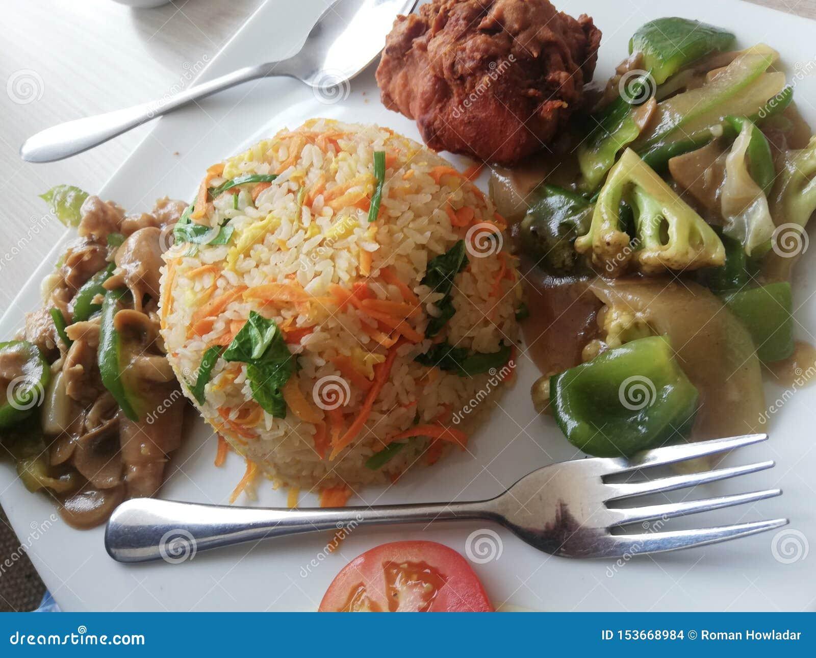 Alimento di fasco di Al a Dacca, Bangladesh