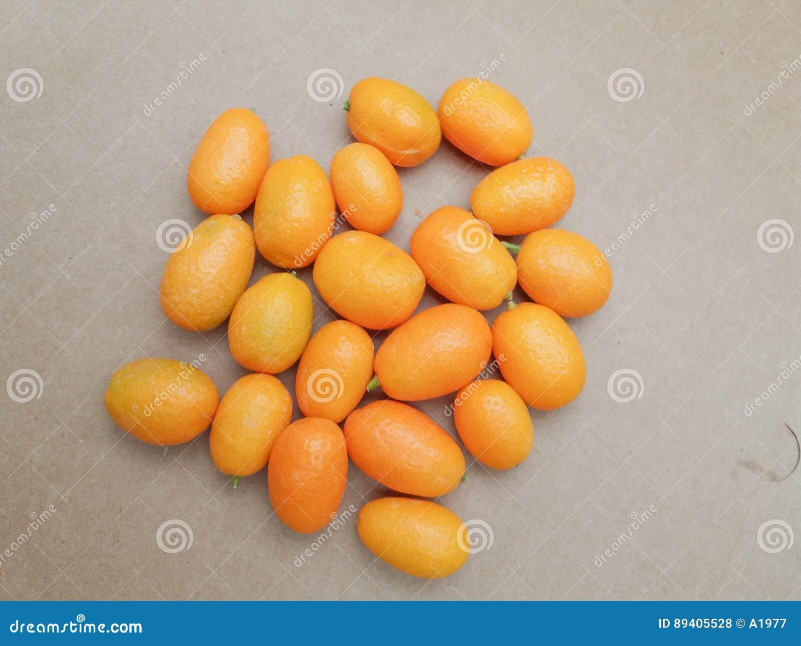 Alimento do fruto do Kumquat