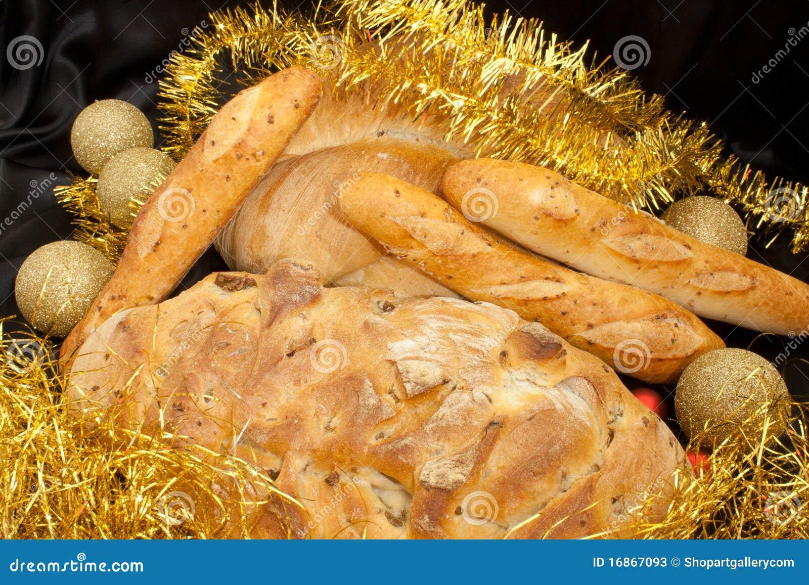 Alimento do Natal - pão