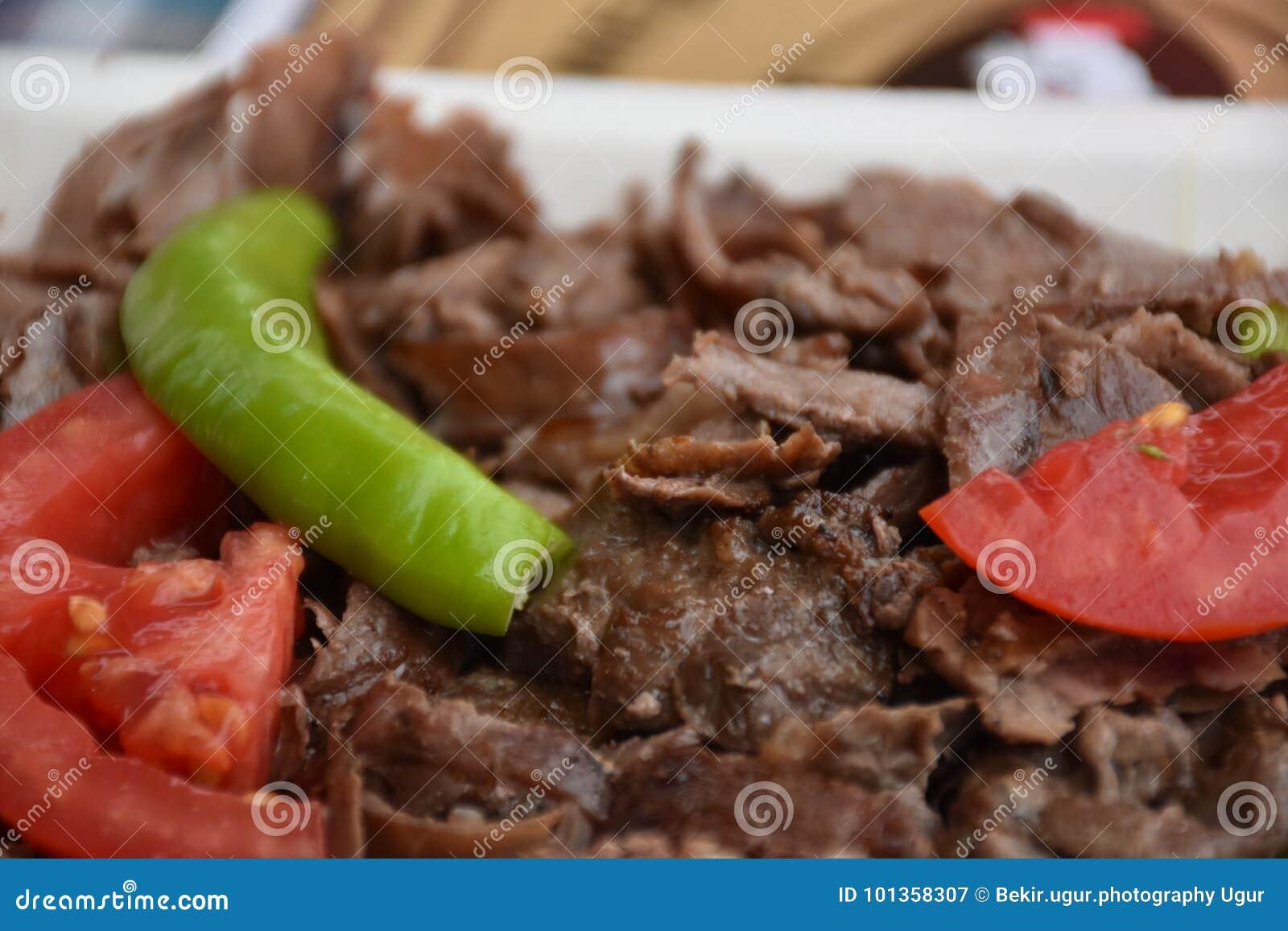 Alimento do turco de Doner Kebab