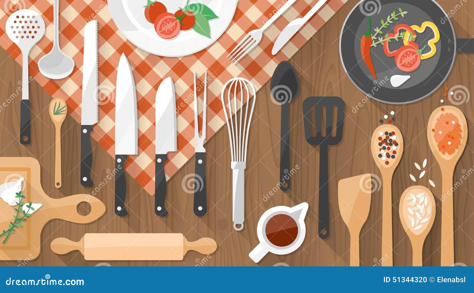 Alimento ed insegna di cottura