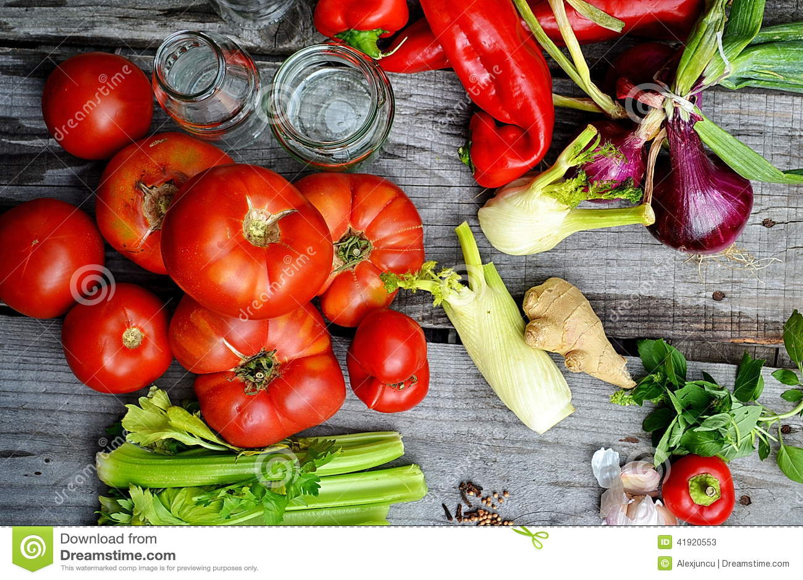 Alimento fresco de vegetable