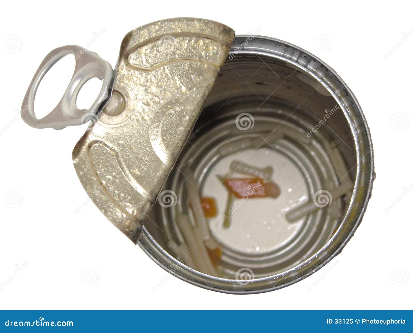 Alimento: Lata vazia da sopa