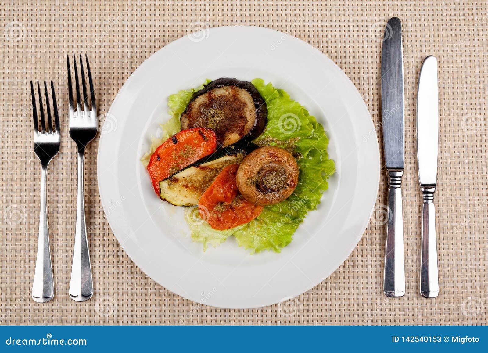 Alimento nel piatto