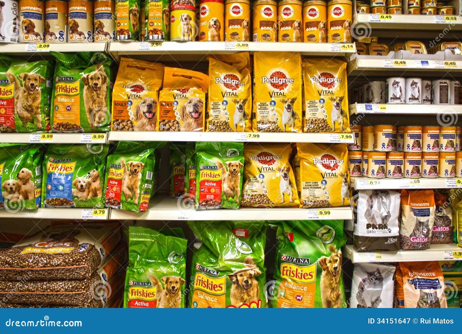 Alimento para animais de estimação