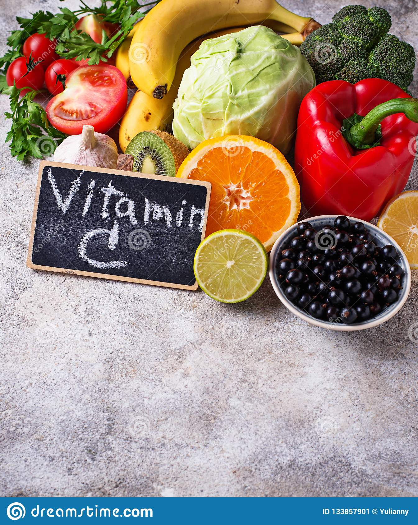 Alimento que contém a vitamina C Comer saudável