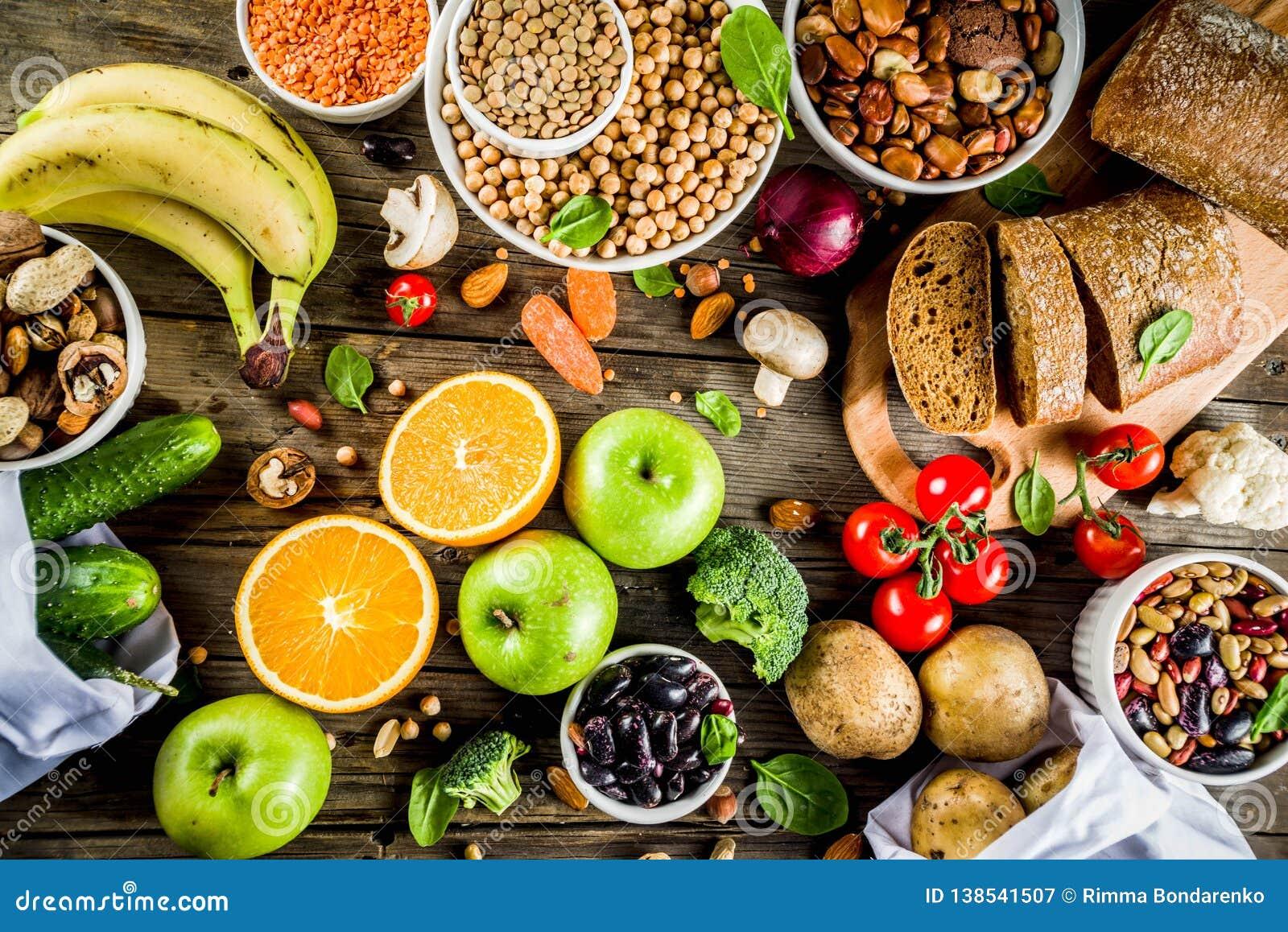 Alimento ricco della buona fibra del carboidrato