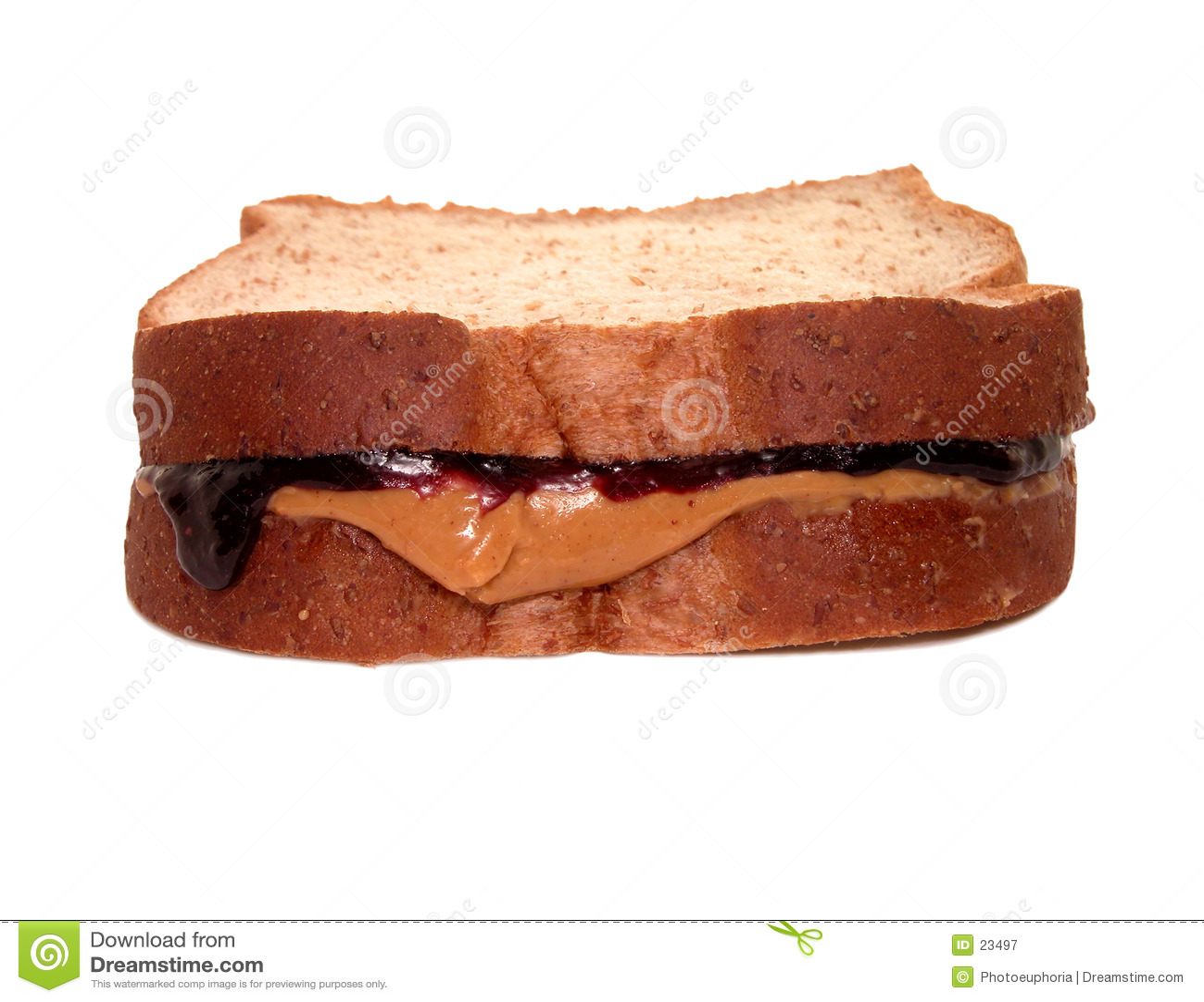Alimento: Sanduíche de PB&J