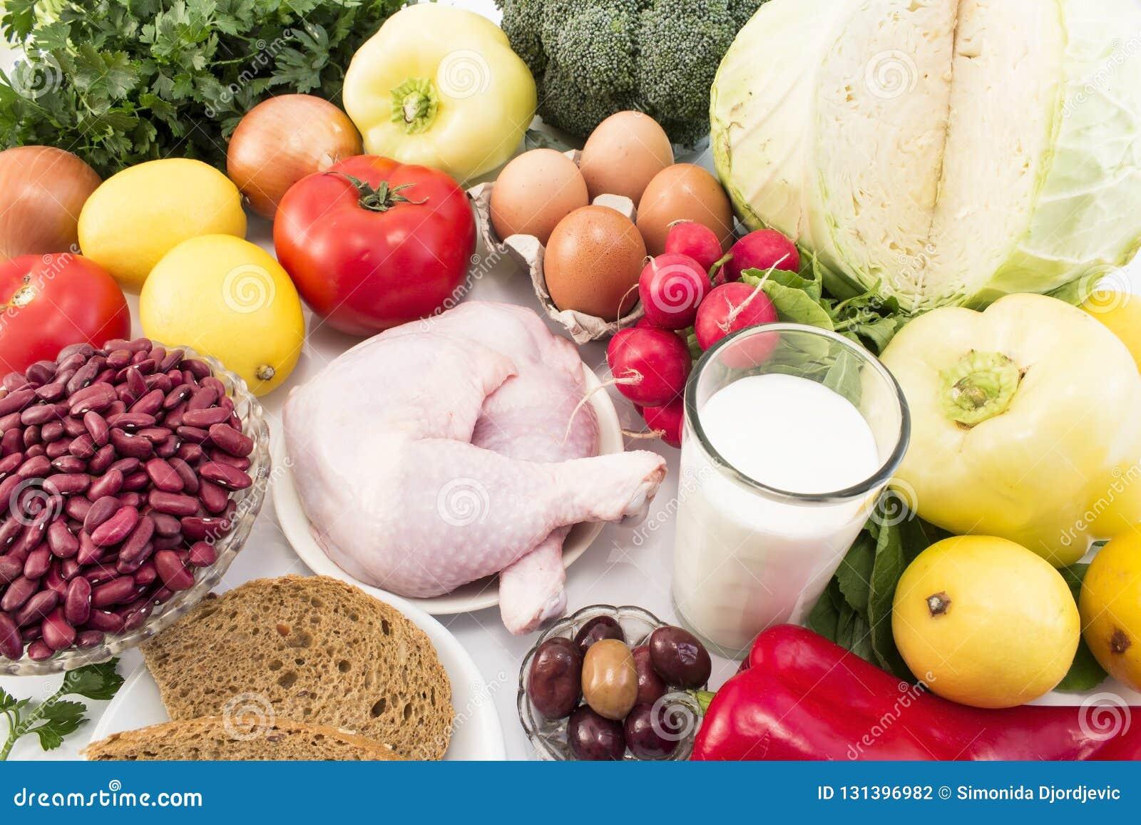Alimento Sano Equilibrato Raccomandato Per Diabete Ed..