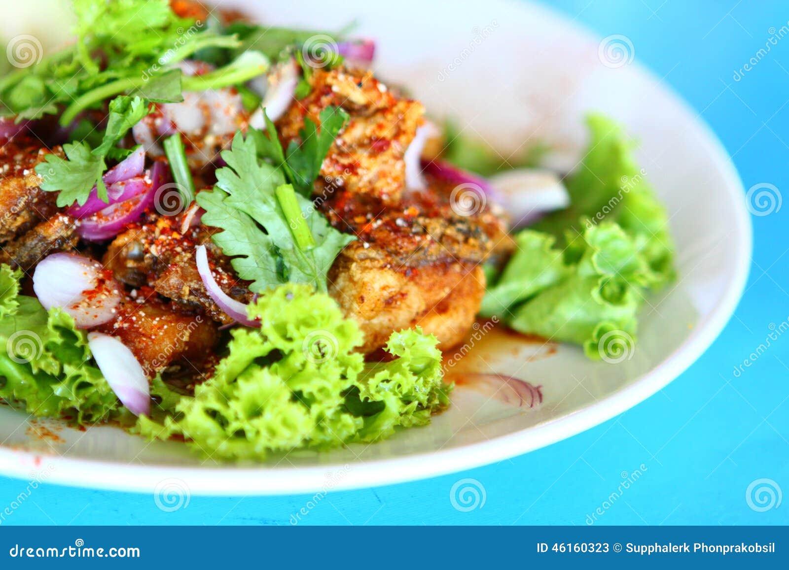 Alimento tailandês picante