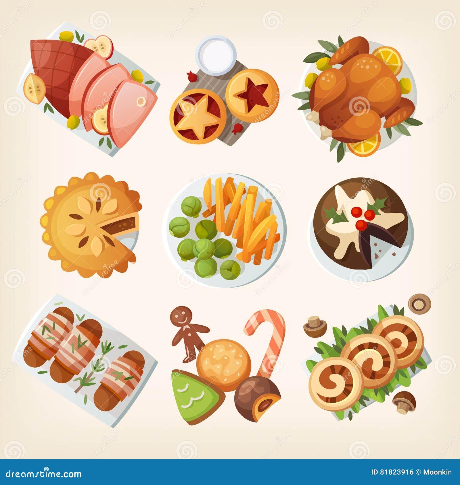 Alimento tradizionale di natale