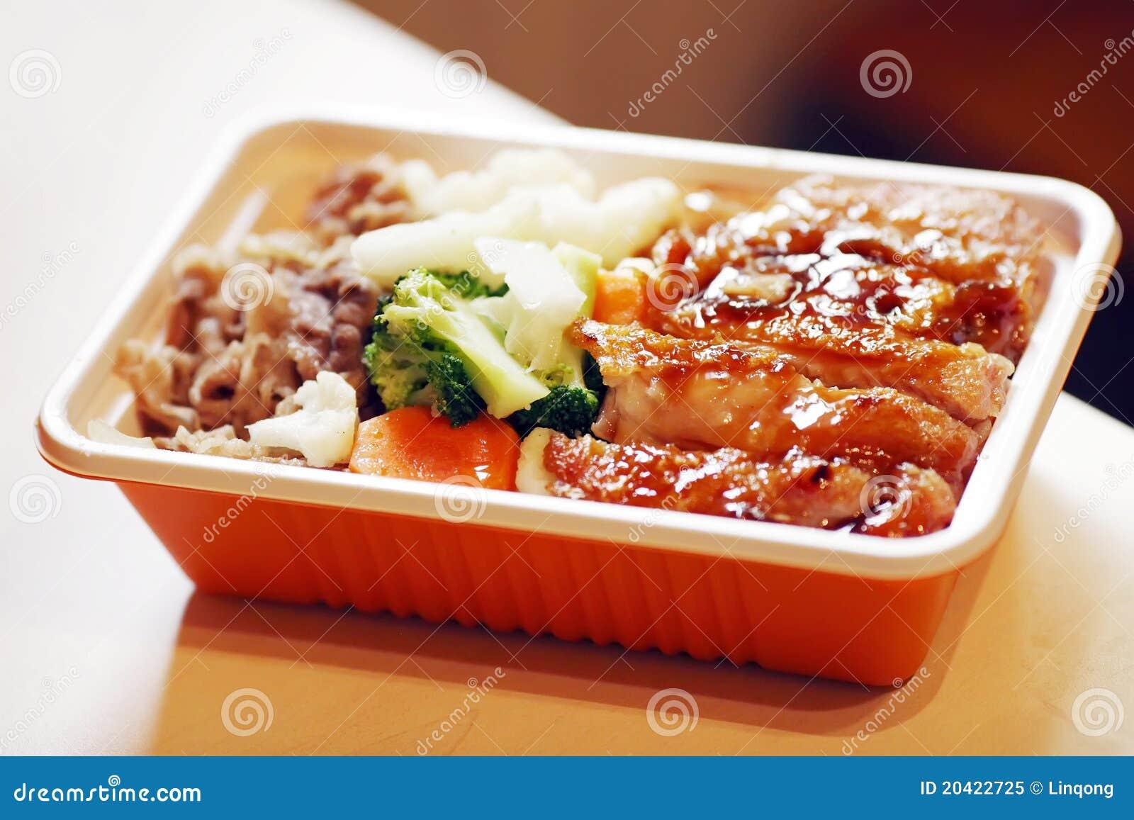 Aliments de préparation rapide chinois