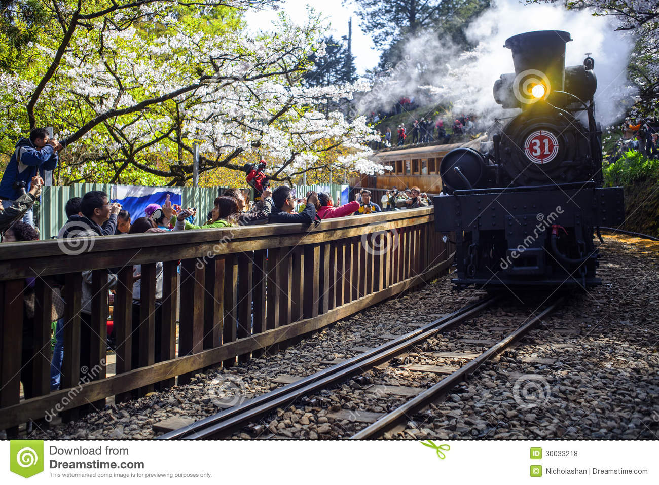 Alishan Forest Train Editorial Stock Photo - Image: 30033218: dreamstime.com/royalty-free-stock-photos-alishan-forest-train-adv...