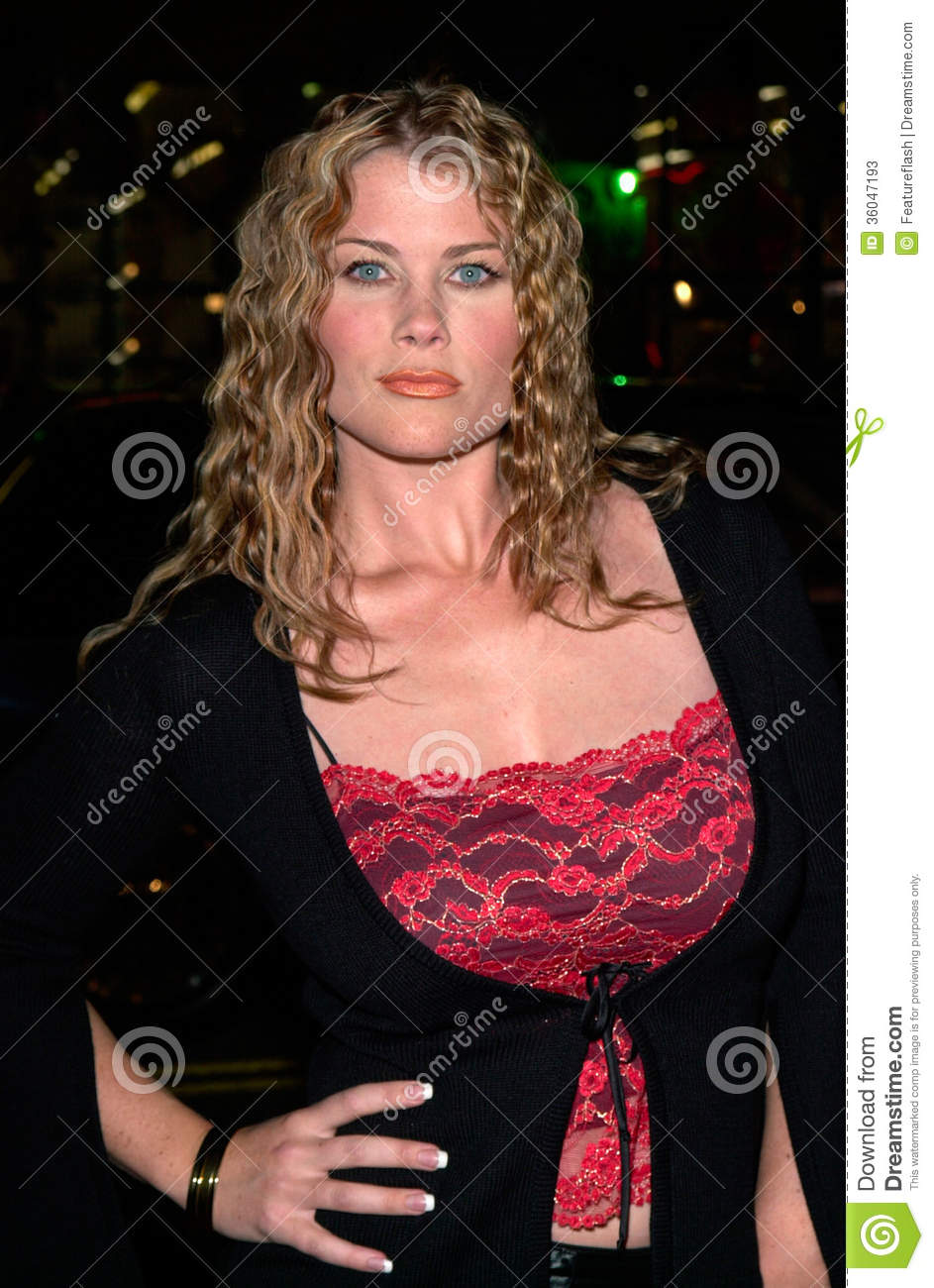Actress ALISON SWEENEY at the world premiere of Charlie's Angels, at ...