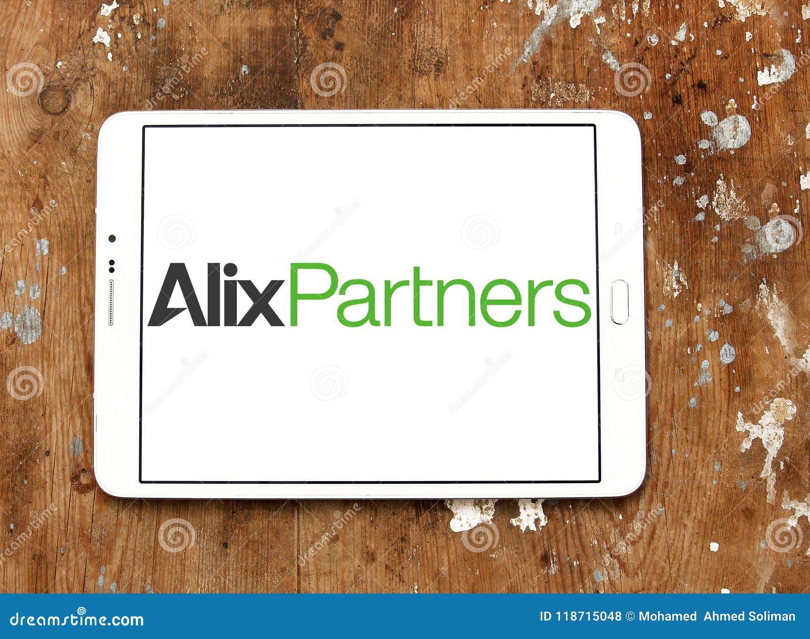 AlixPartners company logo editorial stock photo  Image of