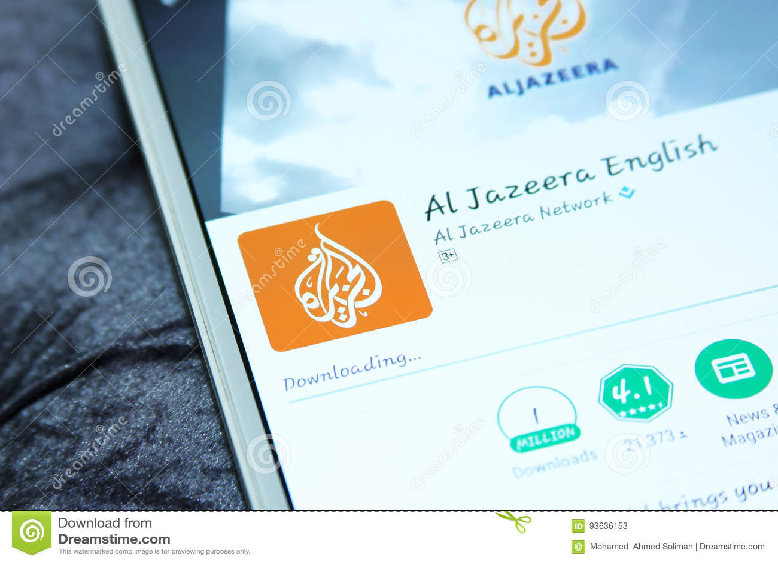 Aljazeera news mobile app