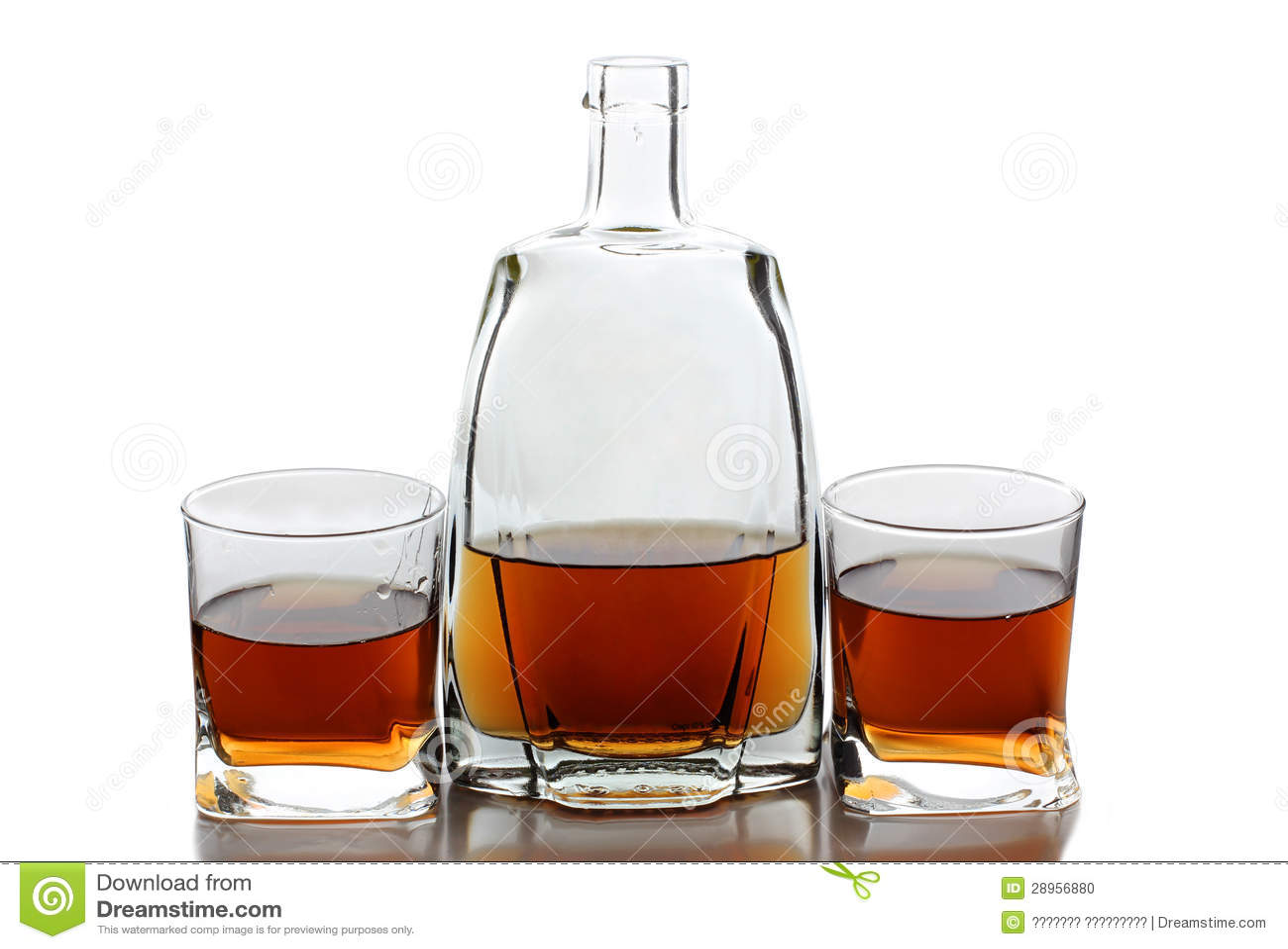 Alkohol butelka i filiżanka