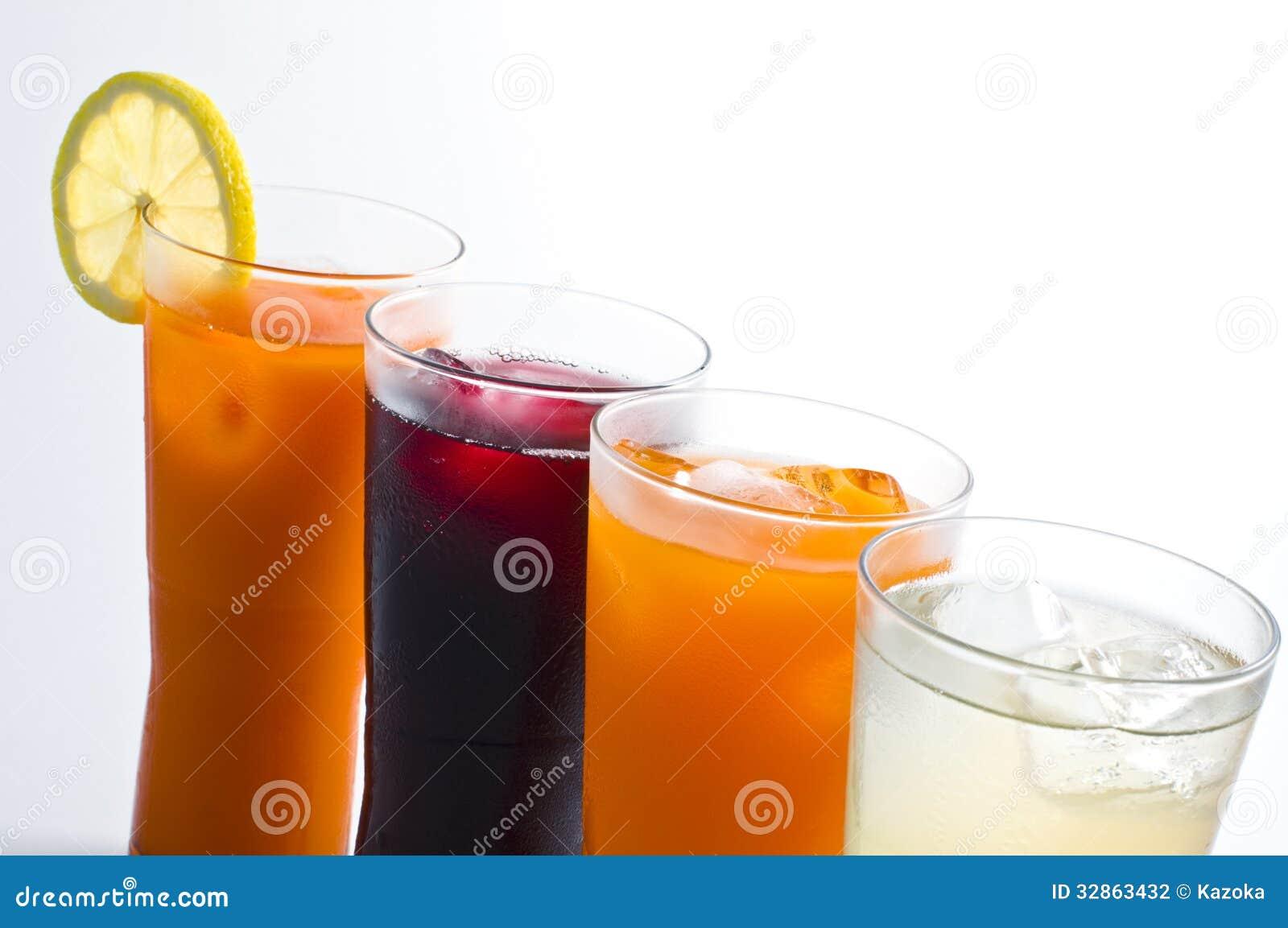 Alkoholfreie Getränke stockfoto. Bild von geschmackvoll - 32863432