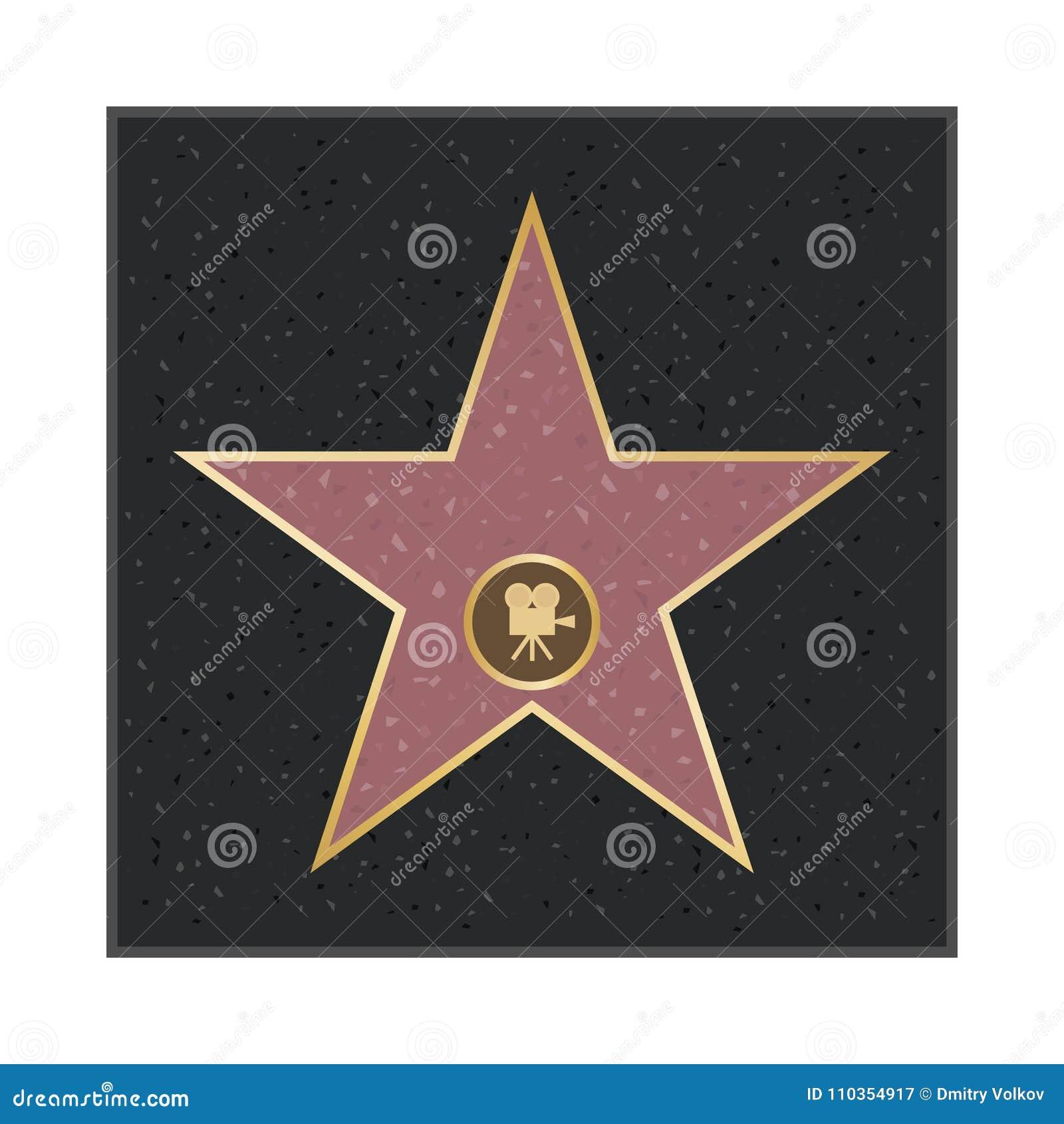 Allées d étoile de la renommée de Hollywood Étoile de gloire