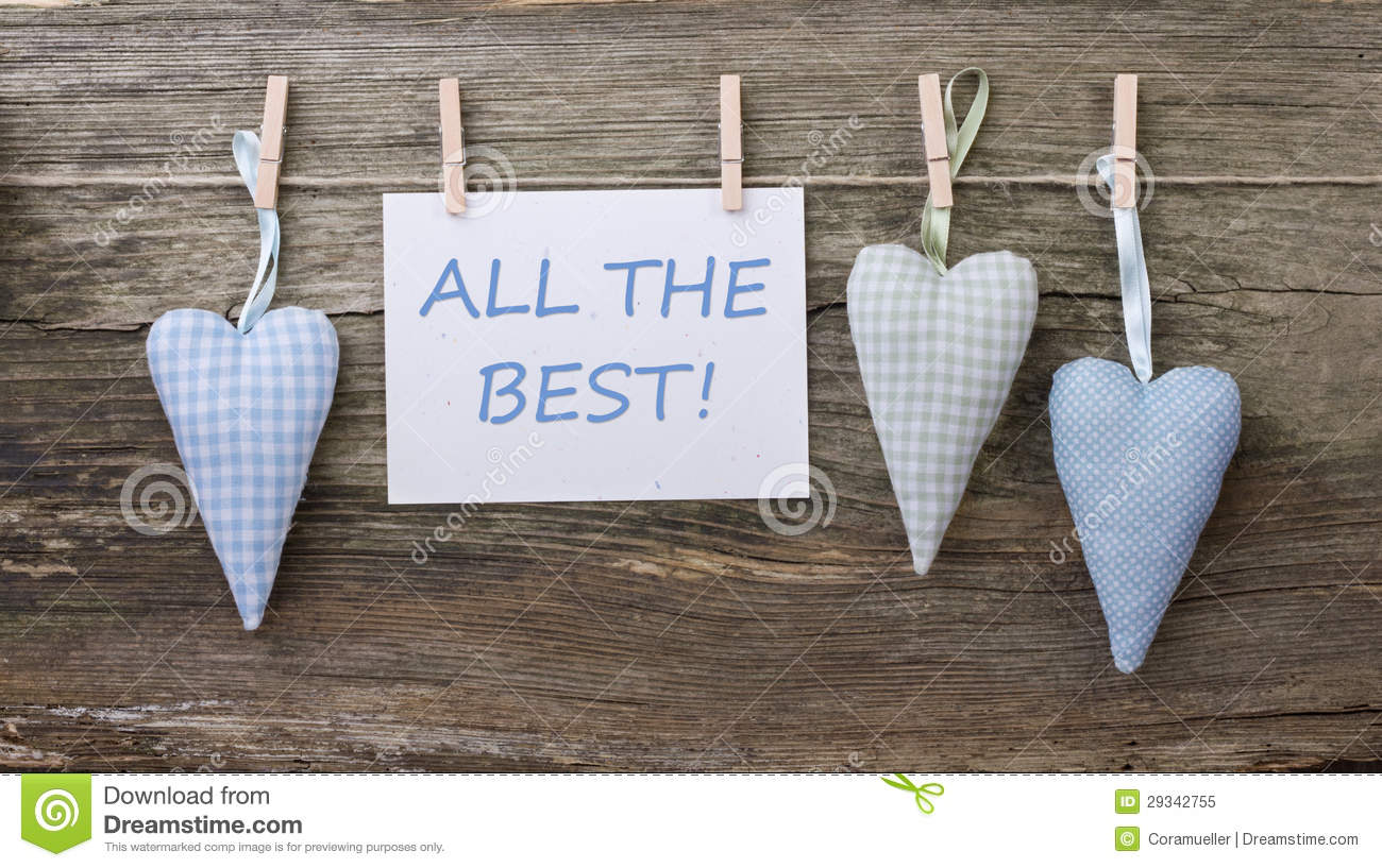 all the best An ellipsis for i wish you all the best of luck or a similar phrase interjection all the best used to wish someone good luck synonyms.