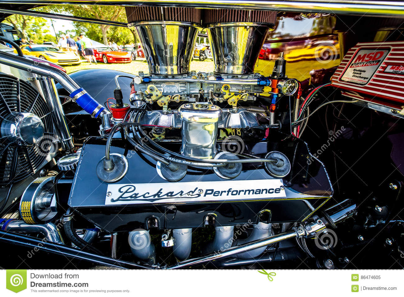 All chrome racing engine editorial image. Image of high - 86474605