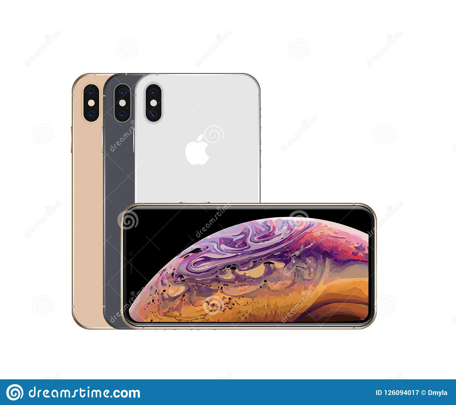 All colors of iPhone xs max