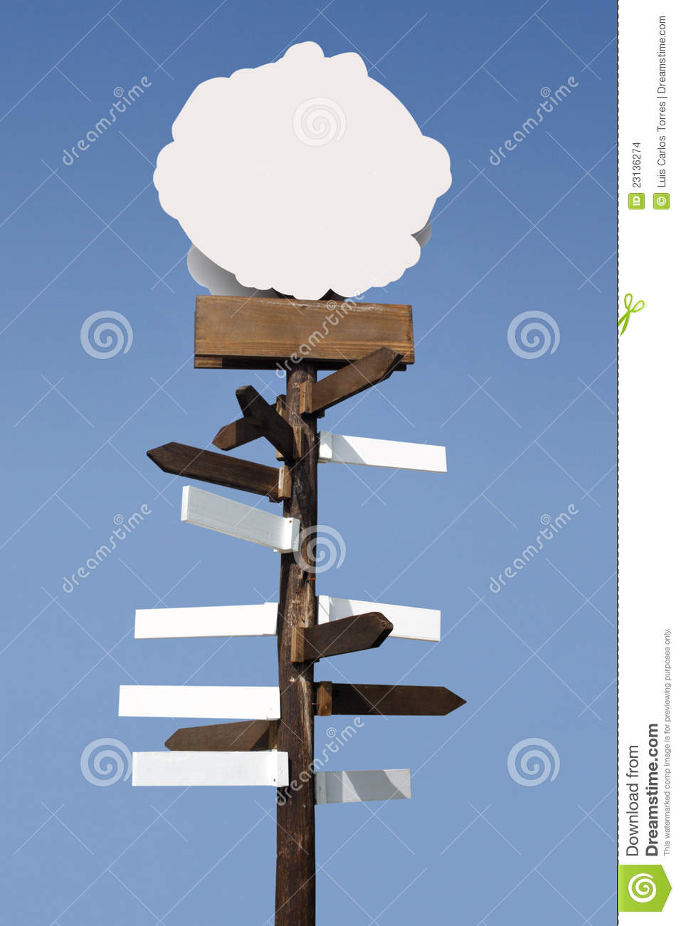 All directions totem