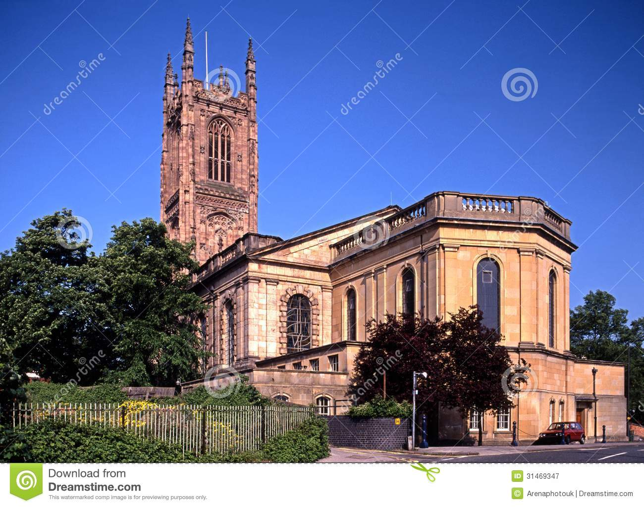 All helgondomkyrka, derby, England.