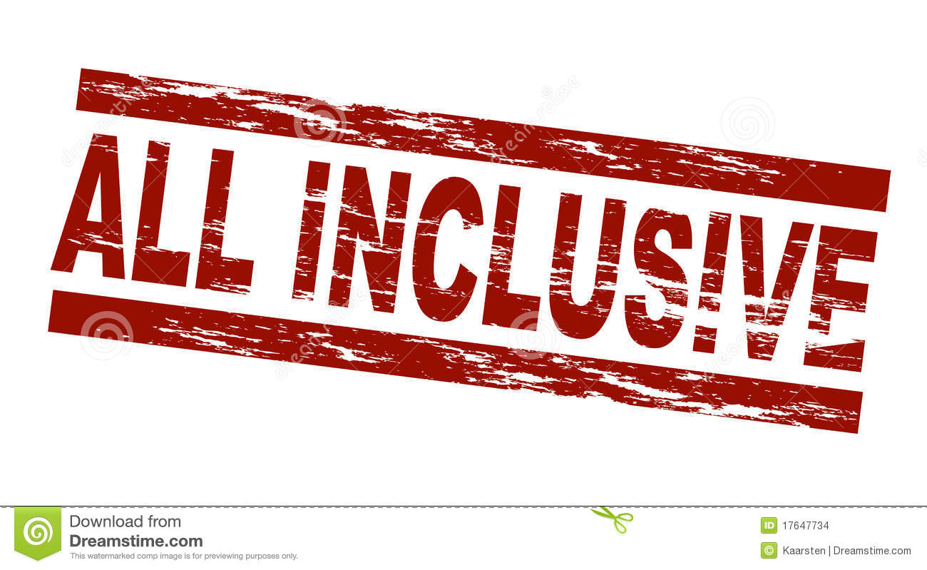 All Inclusive Stock Images Image 17647734