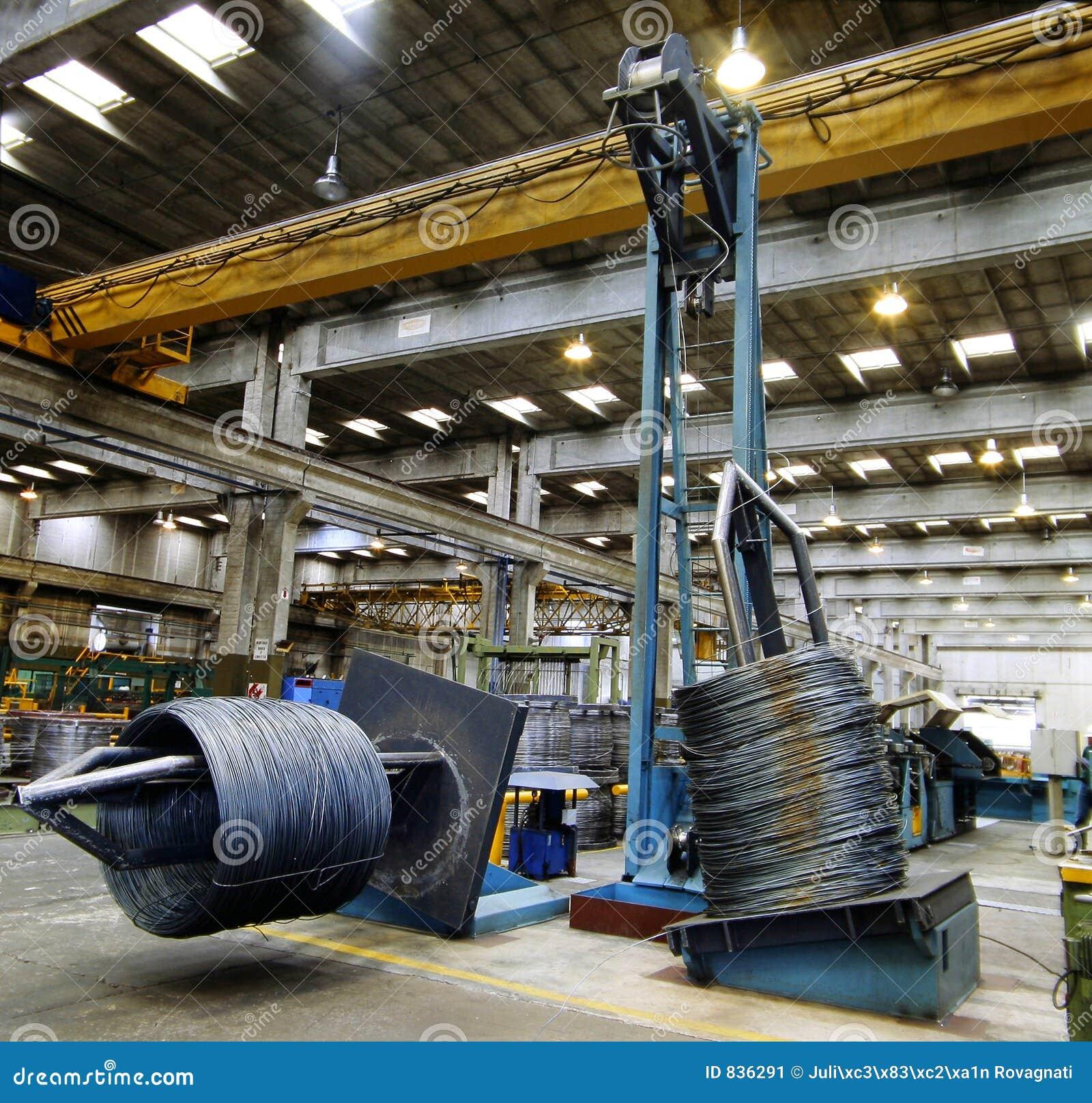 All 39 interno di una fabbrica d 39 acciaio immagine stock for All interno di una cabina