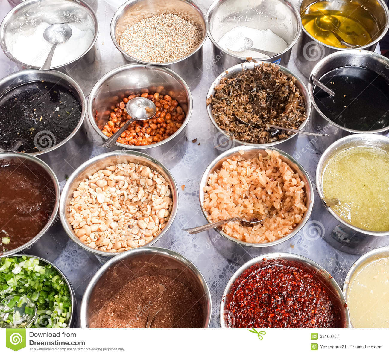 All Kinds Of Spices And Ingredients Royalty Free Stock ...