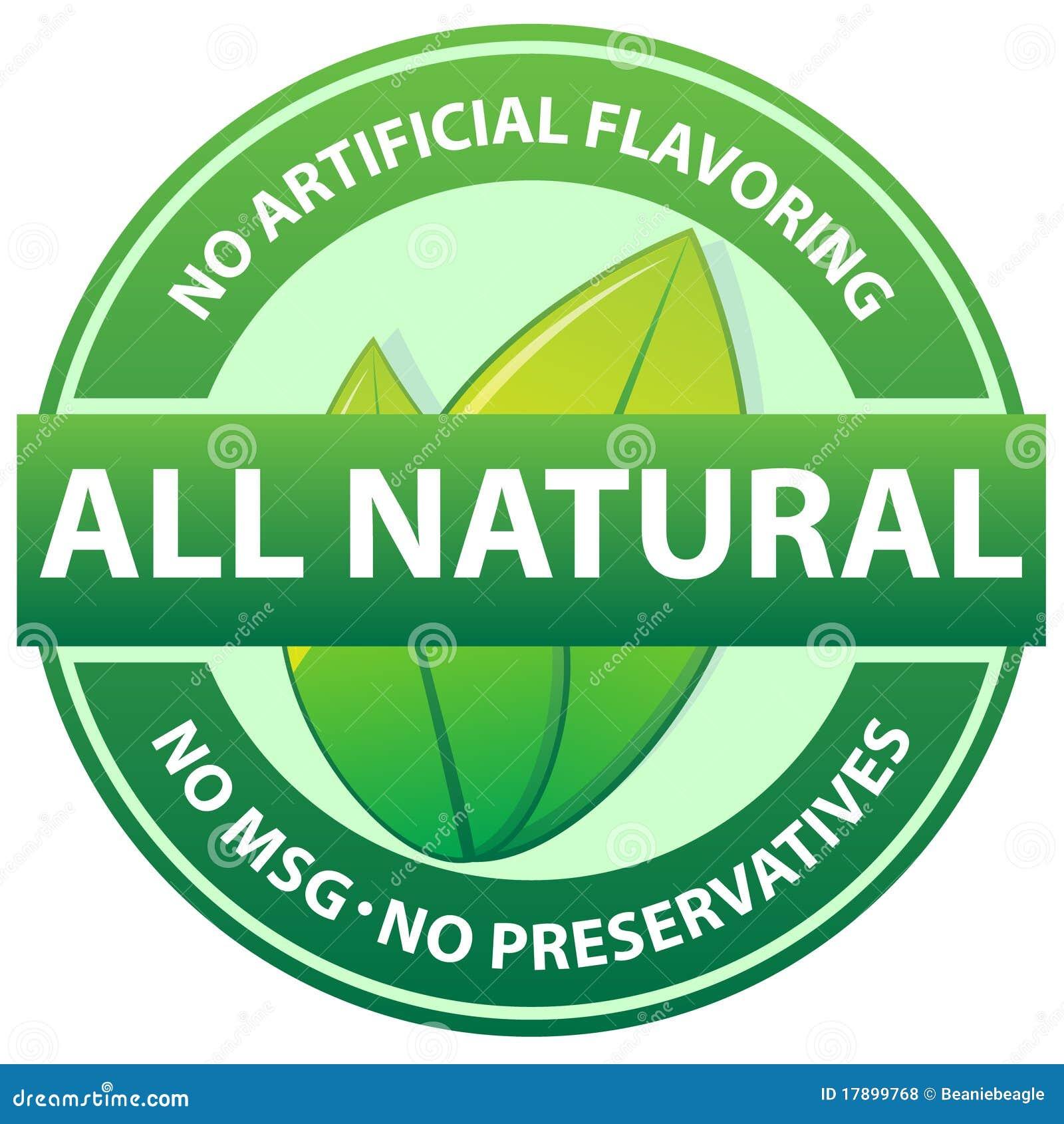 All Natural Food Seal