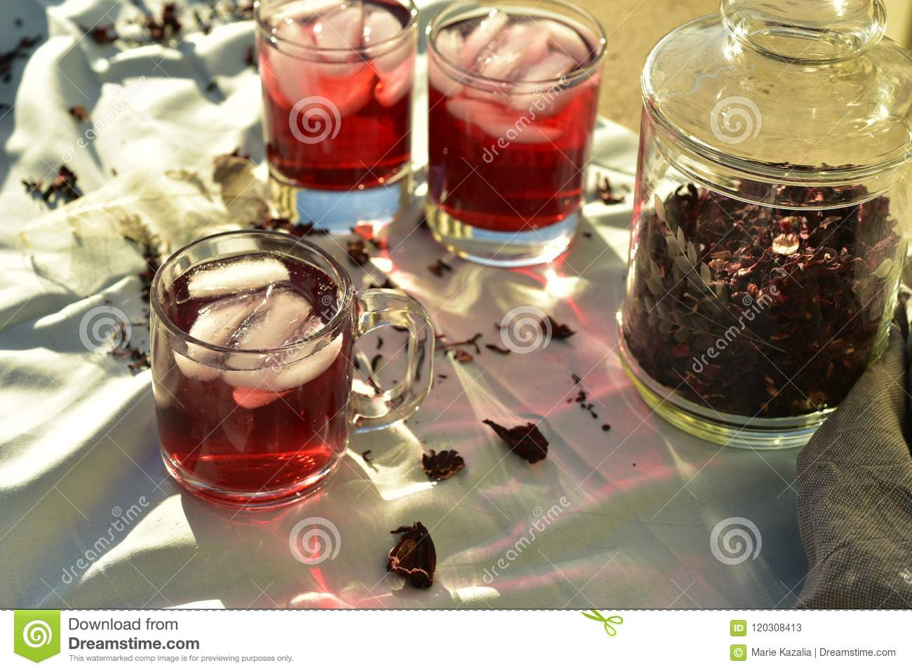 Natural red ice tea made of hibiscus flower petals called fleur de all natural red ice tea made from hibiscus flower petals called fleur de jamaica in mexico izmirmasajfo