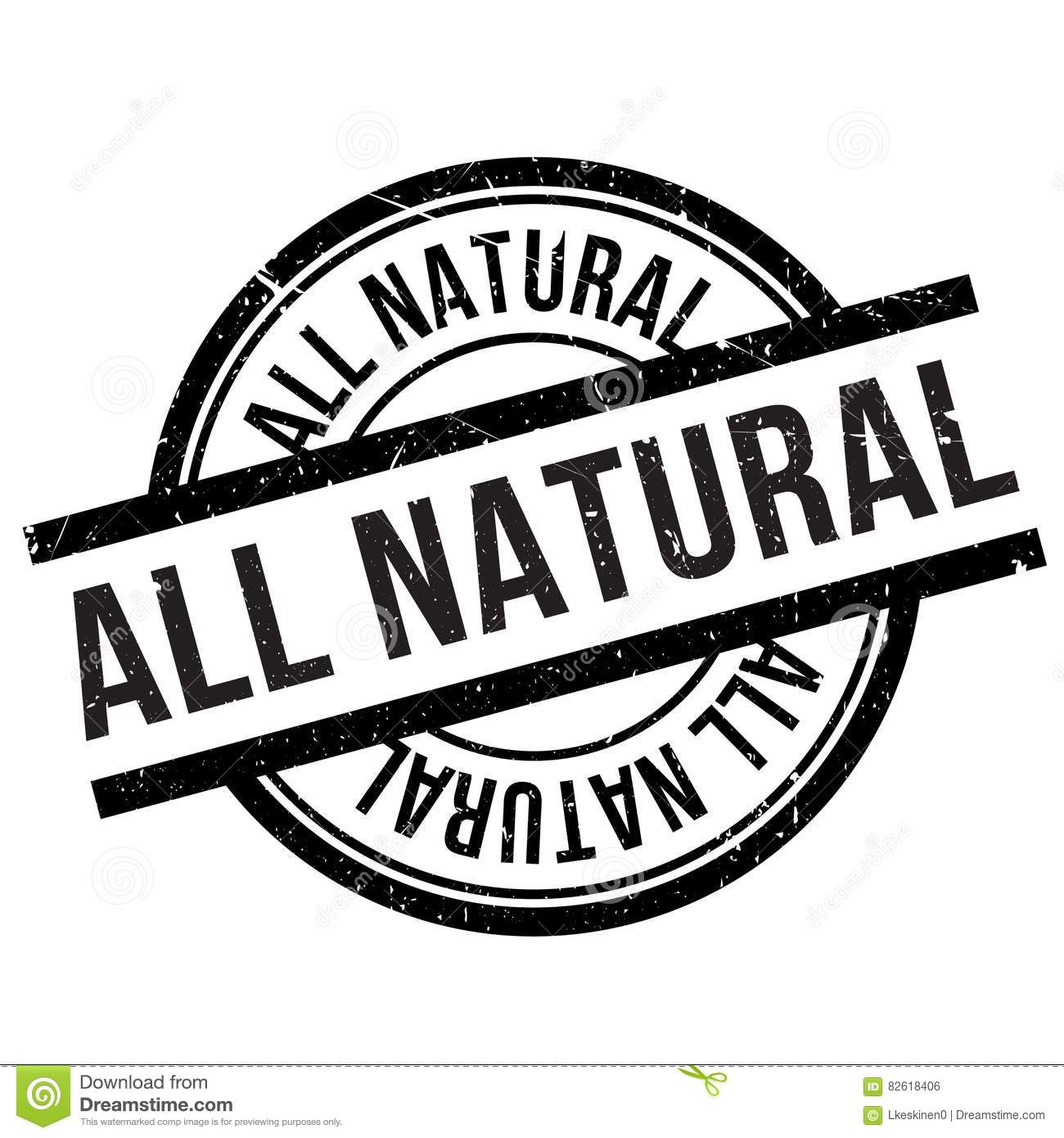 all natural stamp stock vector image of isolated