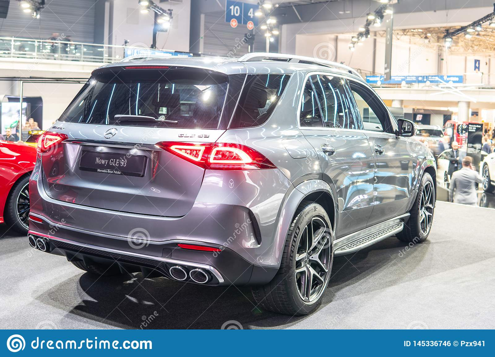 All New Mercedes AMG GLE 53 4Matic+, Fourth Generation ...