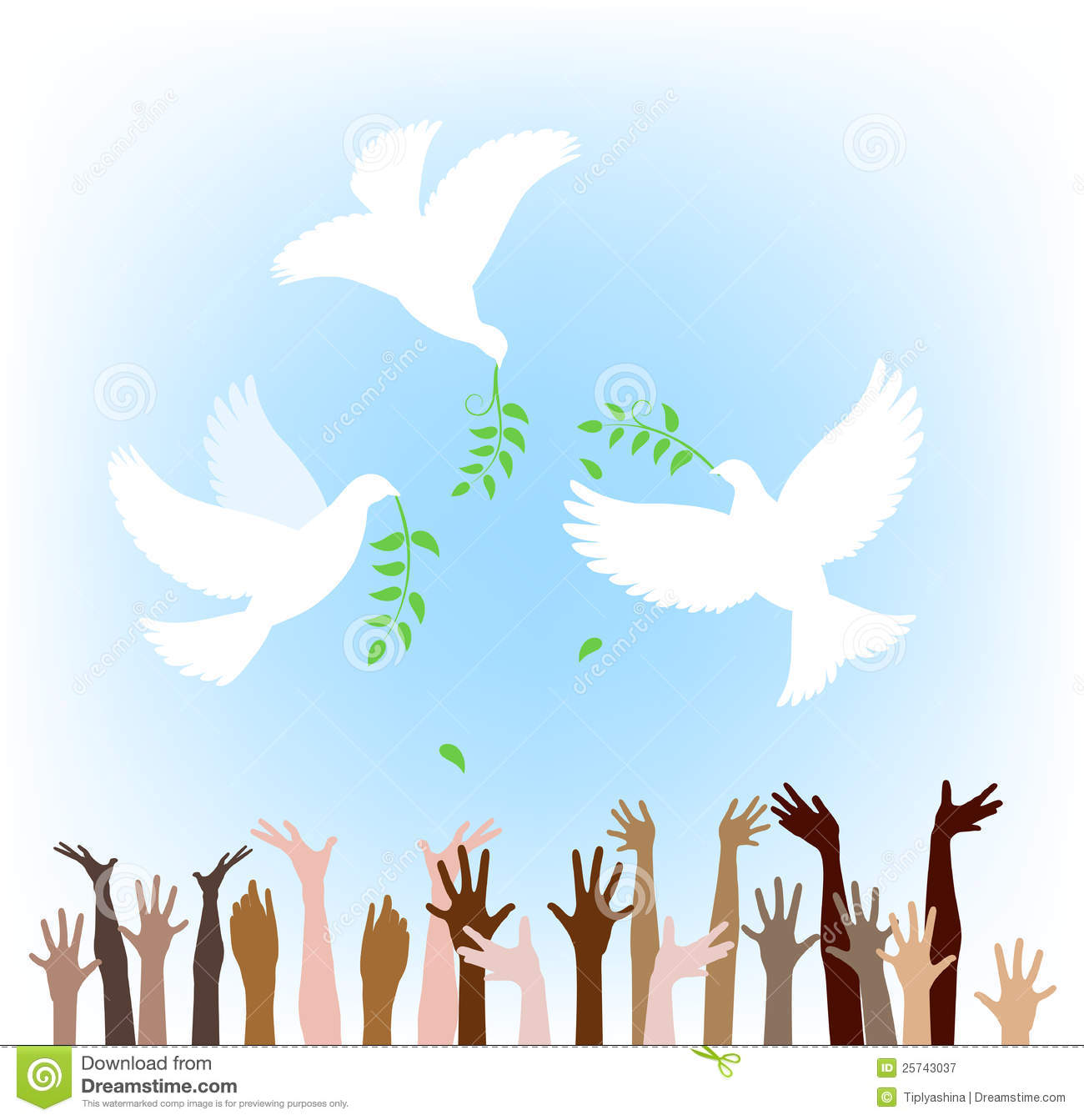 All people look for peace