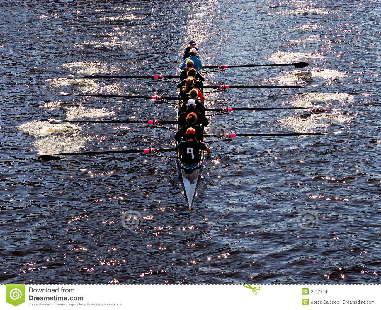 We Are All In The Same Boat Stock Images - Image: 2197724 Rowing Boat Team
