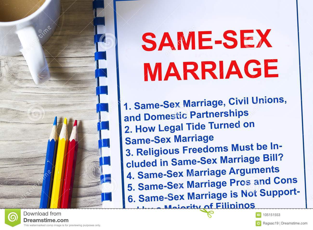 Pros about same sex marriag
