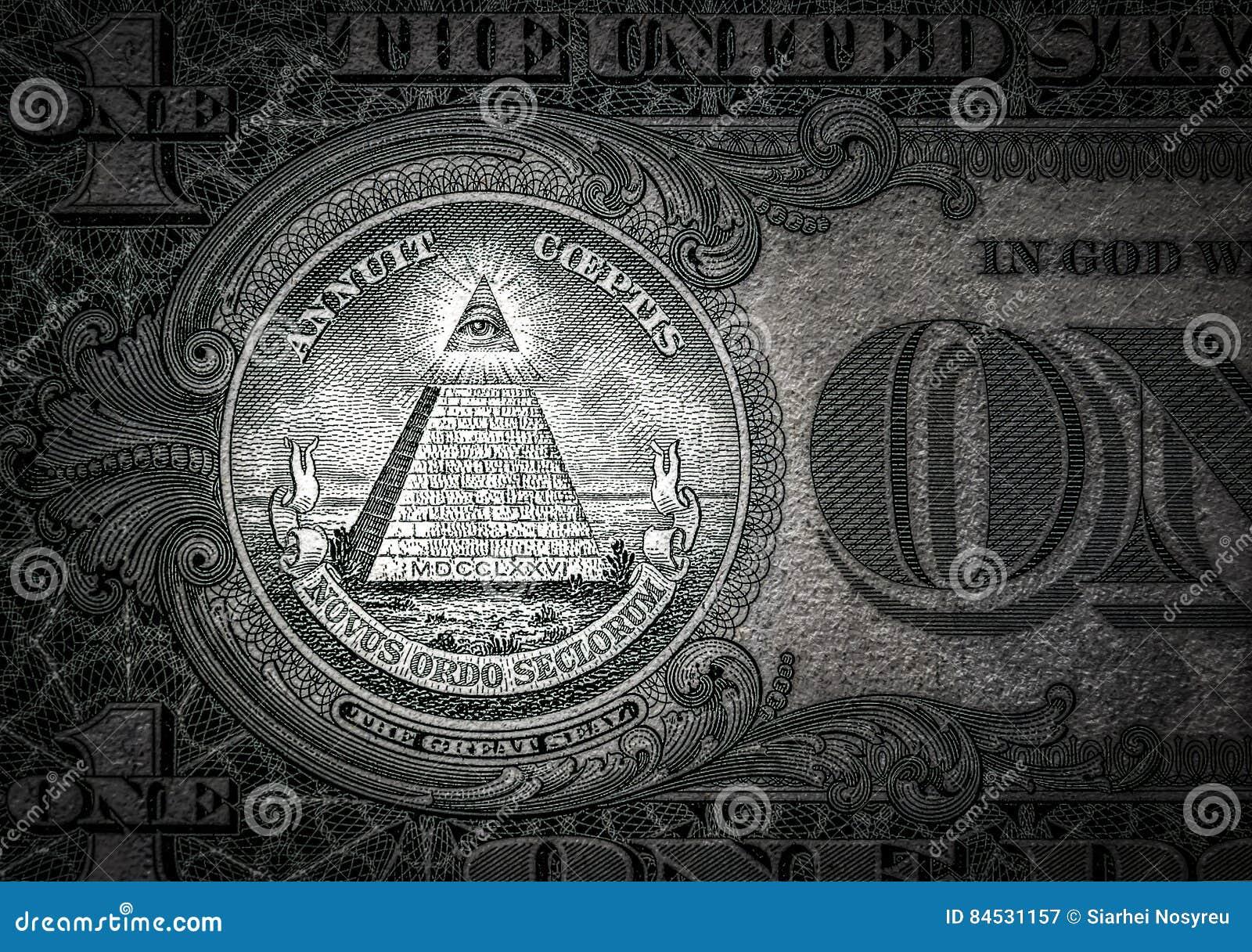 New World Order Money Religion Stock Photography ...