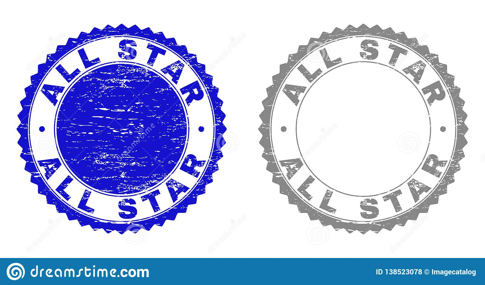 ALL STAR texturisé a rayé des timbres avec le ruban