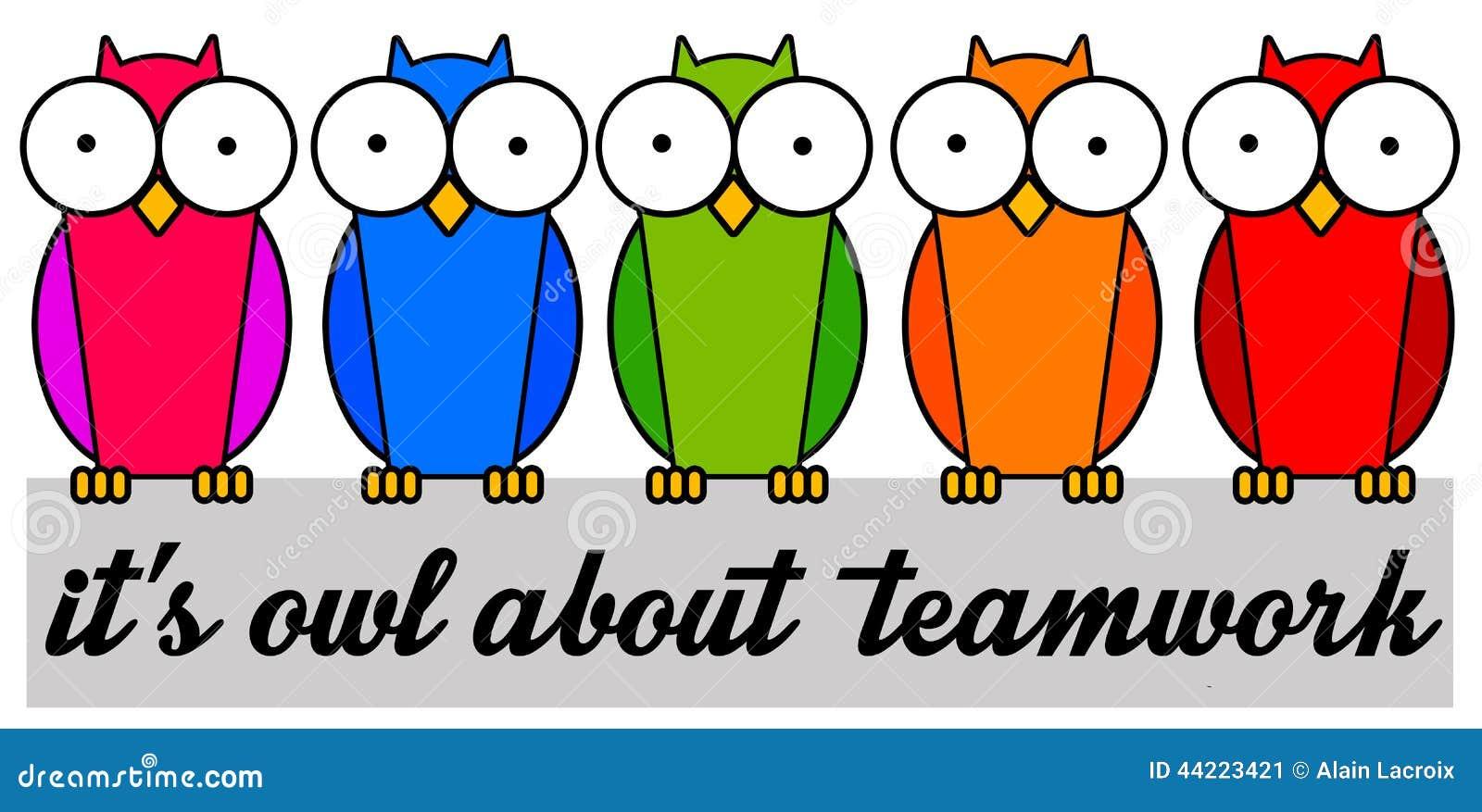 All about teamwork stock illustration. Illustration of ...