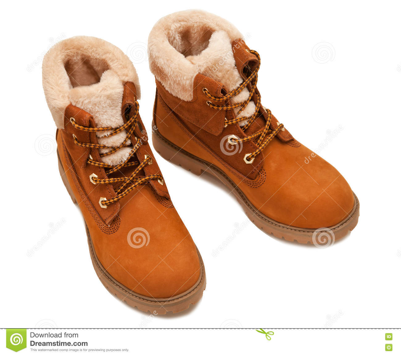 33b7bac70f All-weather Shoes Isolated On A White Background Stock Photo - Image ...