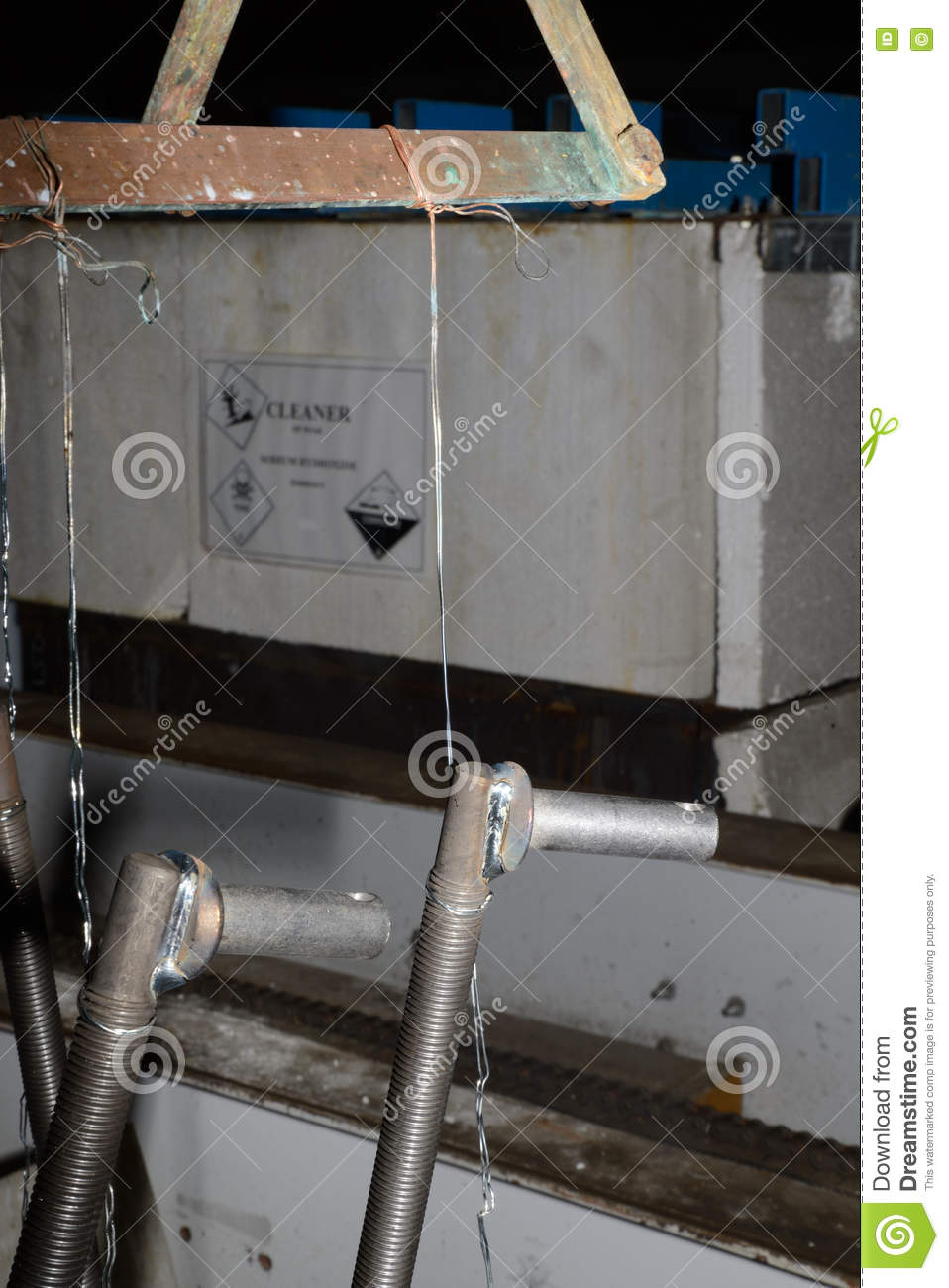 All wired up stock photo  Image of metal, cleaner, industrial - 78442710