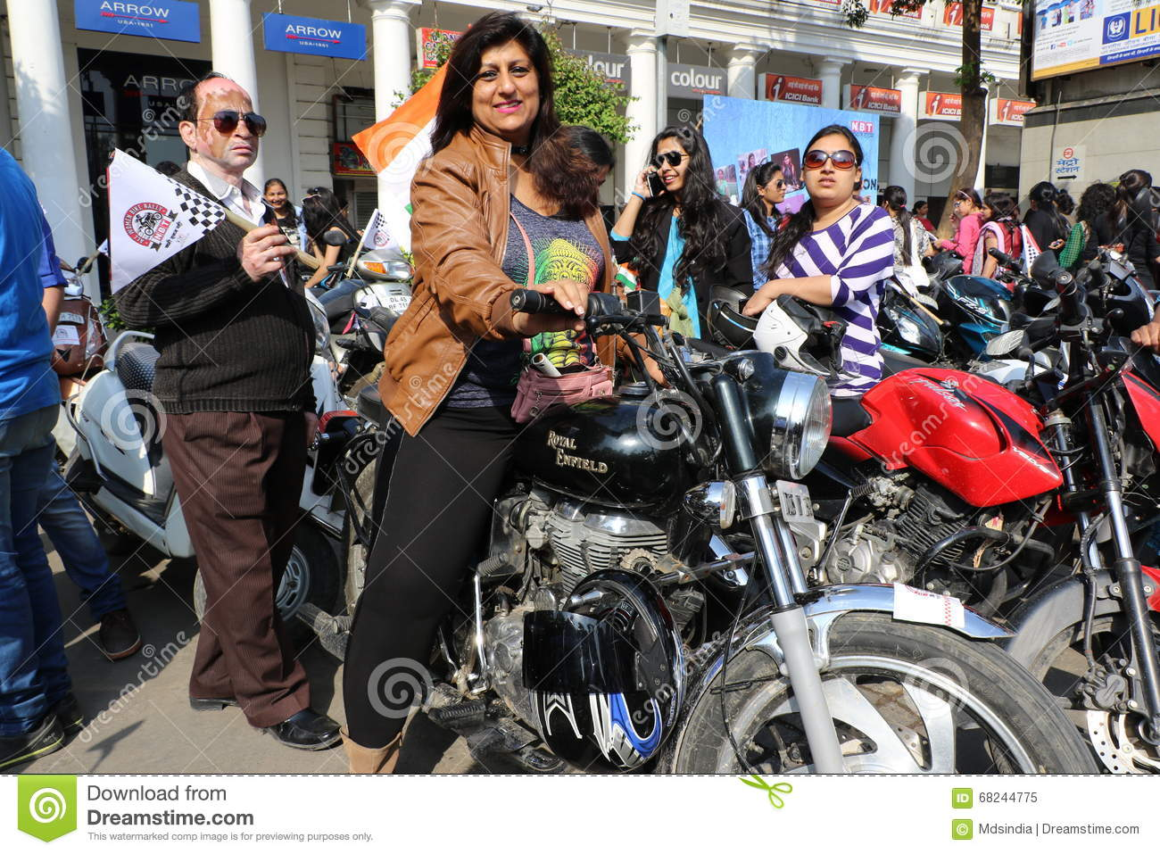 All Women Bike Rally editorial image. Image of power ...