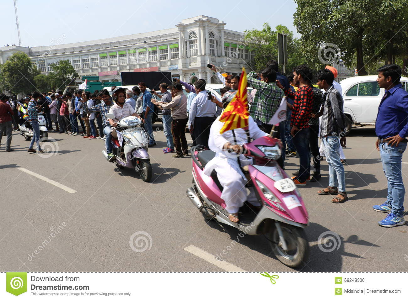 All Women Bike Rally Editorial Image - Image: 68248300
