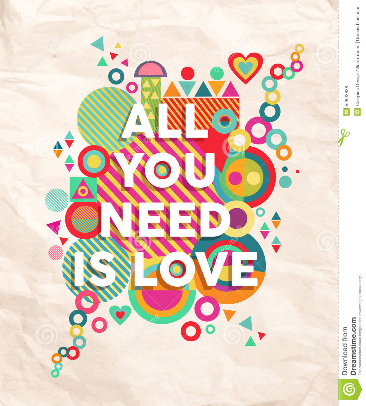 All You Need Is Love Quote Pos...