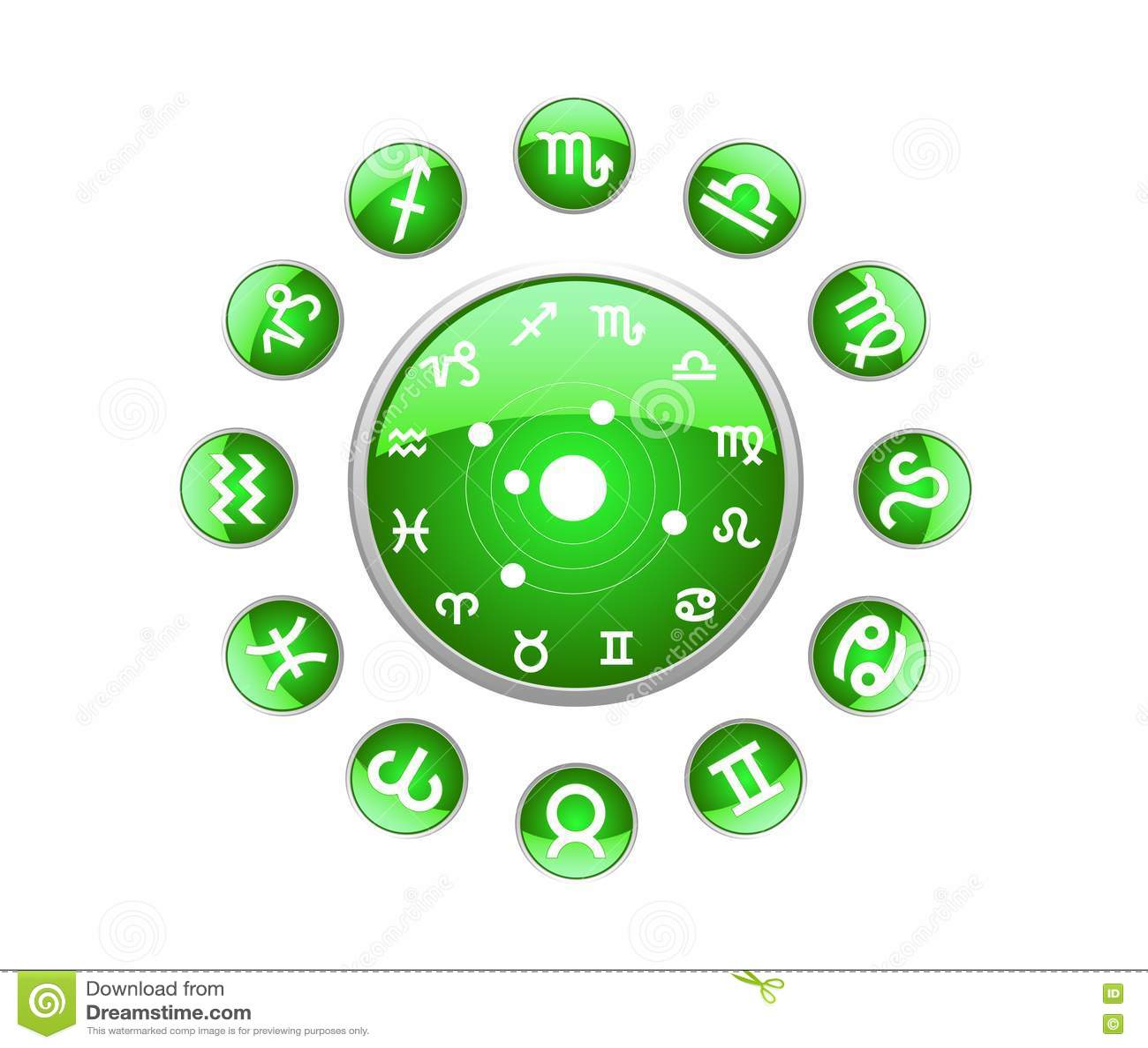 Chinese zodiac green monkey