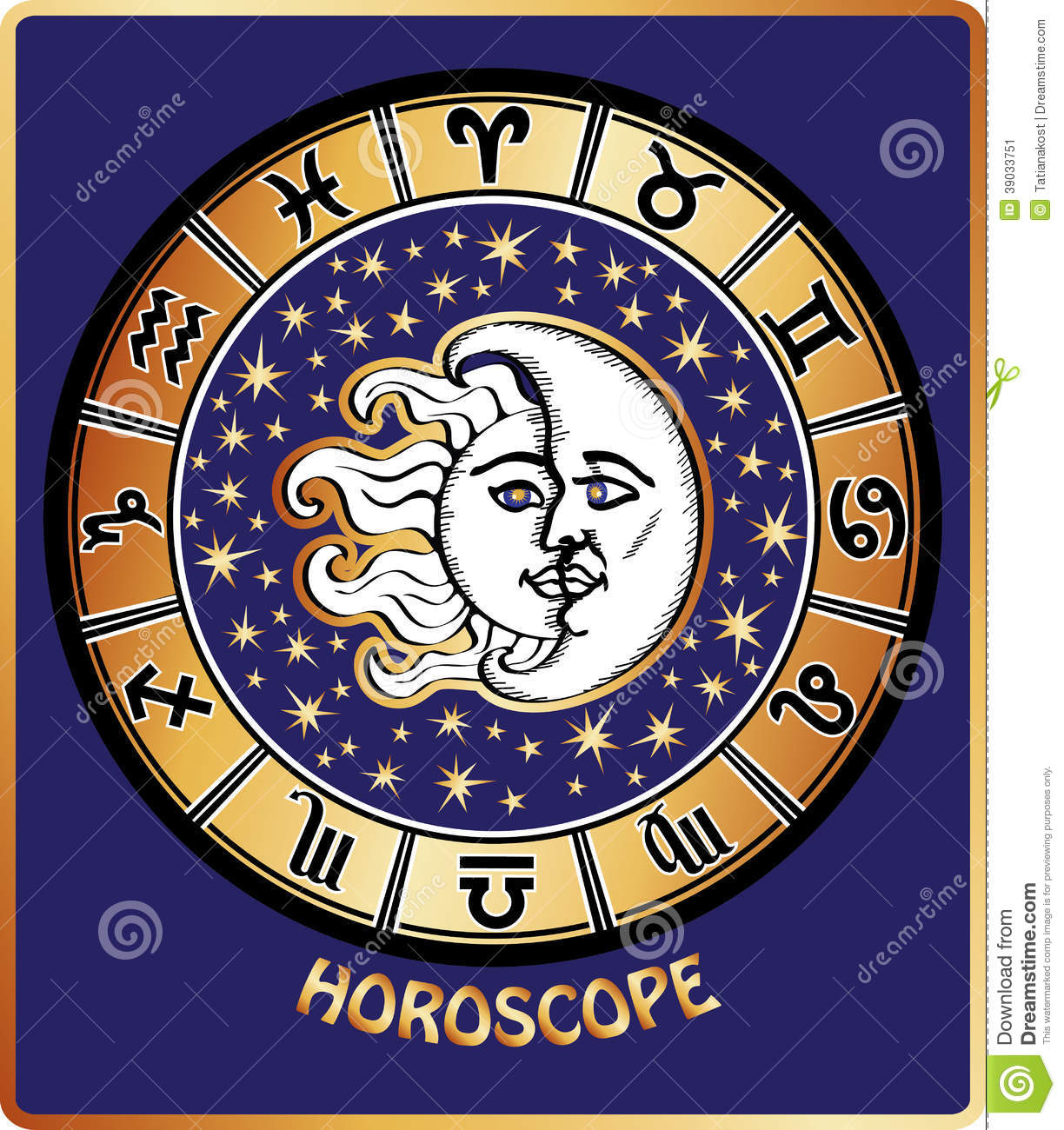 All zodiac sign in horoscope circlen and moon stock vector all zodiac sign in horoscope circlen and moon geenschuldenfo Image collections
